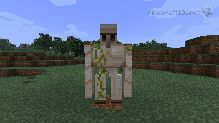 How To Craft An Iron Golem In Minecraft
