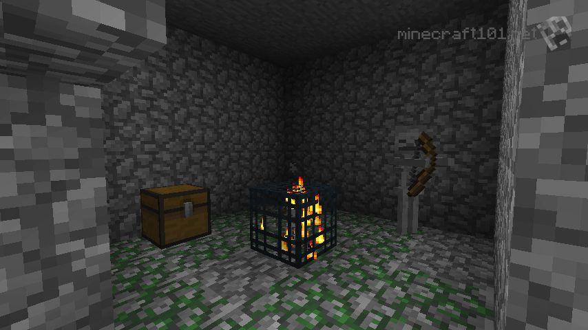 Skeleton Room Minecraft How To Make