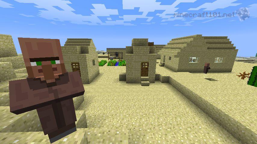 Make Villagers Build Minecraft